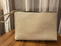 Steve Madden large clutch Bag | Gray, Steve Madden design | Wrist bag