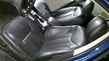 2010-2012 Mercury Milan Ford Fusion Complete Black Leather Seat Set