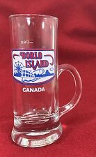 Vtg BOBLO ISLAND Canada 1.5 oz. Souvenir Shot Glass Mug w/ Handle Amusement Park