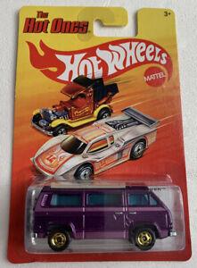 Hot Wheels  Hot Ones Vw Sunagon camper purple rare vvhtf