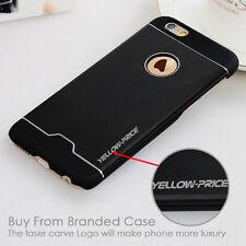 "Black Ultra Thin Slim Metal Aluminium Bumper Case Cover Frame For iPhone 6 4.7"""