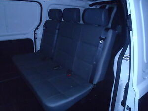 Hyundai Iload Rear Seat with Inbuilt Seat Belts & Headrests All About Vans