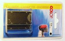 lot 2 Cartouches Encreur Recharge noir pour Tampon TRODAT 6/4912 ou COLOP E/30