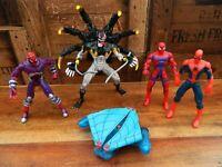 Vintage Spider Man Classics Action Figure Set - Alien Carnage Cyber Spiderman