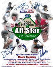 Roger Clemens +3 Signed Autographed 2004 Allstar Game L/E 8x10 Photo JSA #T21229