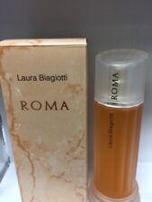 Roma by Laura Biagiotti Women's Eau de Toilette Spray 3.3 oz / 100 ml New In Box