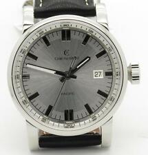 Chronoswiss Pacific Silver Automatic Steel Mens Watch 40mm New CH2883 $1NR!!!