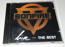 Live...The Best by Bonfire (CD, 1993) RCA/BMG Made in EC