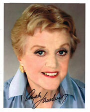 Angela Lansbury SIGNED 8x10 Photo COA