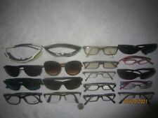Mix Lot of 18 Clear/Sun/Eyeglasses Ray-Ban-UA-ESS-Polaroid-Kirkland-more College