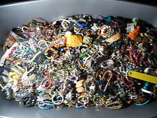 vintage/now Stretch/Link,Charm Bracelet Lots lbs wear,repair Regional A Box