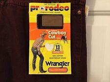 Vintage Men's Wrangler Fire wash Jeans Made In Usa Sz 40/32