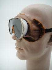 EARLY SKI MOTORING EXPLORATION VINTAGE GOGGLES WW1 Period RACING Face Mask Artic