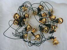 guirlande électrique de Noël vintage lampe à pétrole