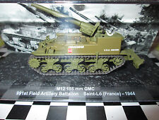 ni altaya M12 155MM GMC 991st field artillery battalion saint-lo (France)-1944