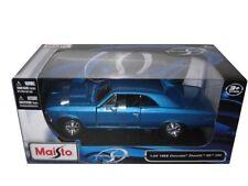 Maisto 1966 Chevrolet Chevelle SS 396 BLUE 1/24 Diecast Car Model 31960BL