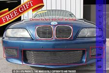 GTG 1996 - 2002 BMW Z3 5PC Polished Overlay Combo Billet Grille Grill Kit