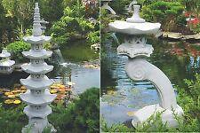 2 Pièce Japonaise Pierre Des Lanternes Lanterne Jardin