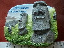Moai Statues Easter Island Rapa Nui Park 3D Fridge Magnet Refrigerator