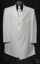 NEW Andrew Fezza White Danube Tuxedo Jacket NWT 70R