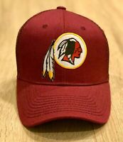 WASHINGTON REDSKINS Cap Hat Patch Style Adjustable Retired Old Logo BRAND NEW!