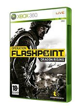 OPERATION FLASHPOINT   DRAGON RISING             -----   pour X-BOX 360  -----