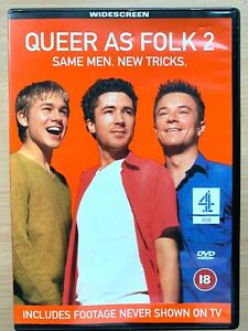 Queer as Folk Season 2 DVD Box Set Original British Gay Drama Series
