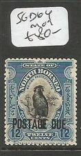 North Borneo Postage Due SG D64 Bird MOG (5clu)