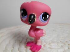petshop authentic littlest LPS oiseau flamant rose étoile pink flamingo #1826