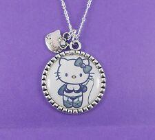 Dominatriz Hello Kitty Collar Psychobilly Gótico Emo Punk Kitsch Kawaii Sanrio