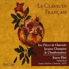 Karen Flint - Pieces Clavessin: Jacques Champion Chambonnieres [New CD]