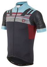 Pearl Izumi 2017 P.R.O. PRO Escape Bike Jersey Eclipse Blue/Tibetan Red - Small