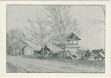 RARE Advertising Trade Card 1890 Yerkes Tile Works Romulus NY Terracotta  etc