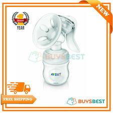 Philips AVENT Comfort Natural Manual Breast Pump & Bottle BPA Free SCF330/20