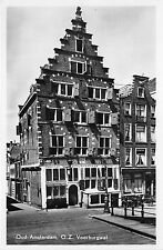 B93878 oud amsterdam voorburgwal  real photo netherlands