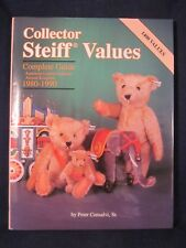 """Collector Steiff Values by Peter Consalvi, Sr SIGNED by """"J R Junginger"""" ~ EXC"""