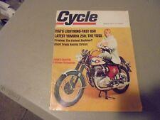MARCH 1967 CYCLE MAGAZINE,BSA 650,YAMAHA 250,YDS5,DAYTONA,SHORT TRACK RACING,AMA