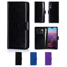 Book Wallet PU Leather Case Cover For Huawei P smart P30 P20 P9 Mate 20 P40