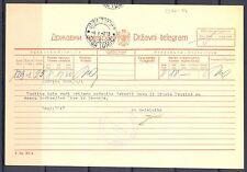 GERMANY OCCUPATION YUGOSLAVIA WW II TELEGRAM  1942 - MODOSCH -