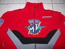 NEU MV Agusta CRC Brutale 1090 Fan-Jacke rot schwarz grau veste jacket jas jakka