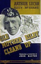 OLD MOTHER RILEY CLEANS UP  (OLD MOTHER RILEY'S GHOSTS) Arthur Lucan TRADE AD