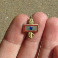 WW2 SON IN SERVICE PATRIOTIC VICTORY SWEETHEART Lapel Pin LADY LIBERTY