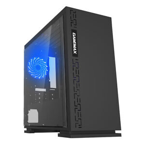 INTEL 1151 G5400 DUAL-CORE 3.7 GHz COMPUTER 8GB RAM 1TB HDD USB 3.0