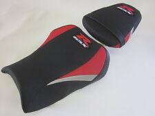 S66 Suzuki GSXR 600 750 2011-17 upgrade seat cover. Red/Black - SET
