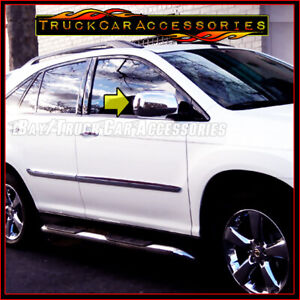 For LEXUS RX330+RX350 2004 2005 2006 2007 2008 2009 Chrome FULL Mirror Covers