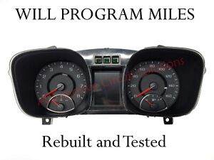 2013 Chevy Malibu Oem Speedometer Cluster 22946106 *Any miles*