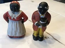 New ListingVintage Pair Black Americana Cast Iron Coin Banks $13 Us Priority Shipping