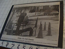vintage Telephone newspaper pic: 1981, 1978 one on each side of paper