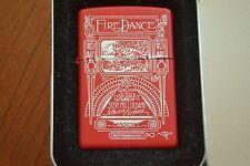 ZIPPO Lighter, 233RA.591 Fire Dance, Stanley Mouse, Rare, XV/1999, Sealed, M1017