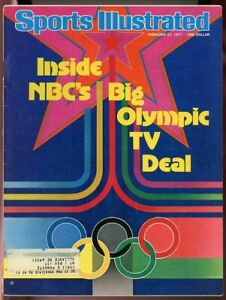 SI: Sports Illustrated February 21, 1977 Inside NBC's Big Olympic TV Deal G
